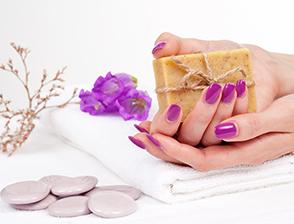 Dead Sea. Manicure
